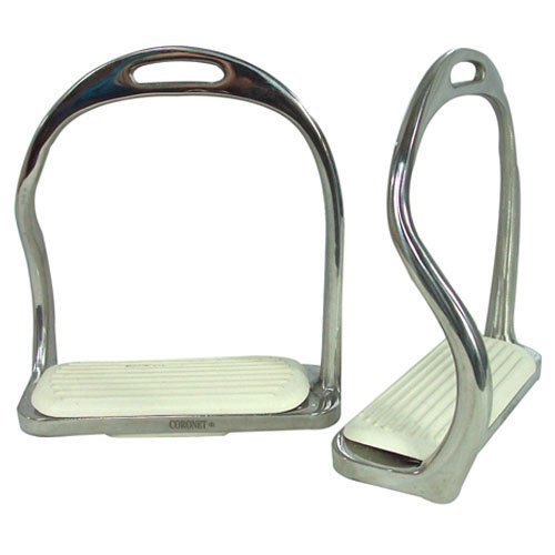 - Intrepid International Foot Free Safety Iron Stirrup, 5.25