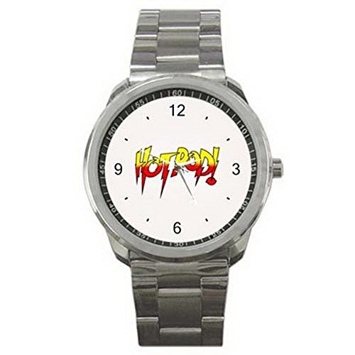 IGT009 Rowdy Roddy Piper Hot Rod Wrestling Style Sport Metal Watch by Stained Glass Wristwatches