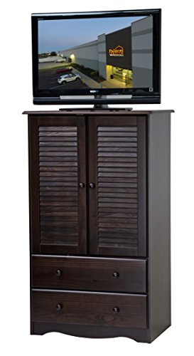Palace Imports 5916 100% Solid Wood Petite Armoire/Wardrobe/Closet Color 32