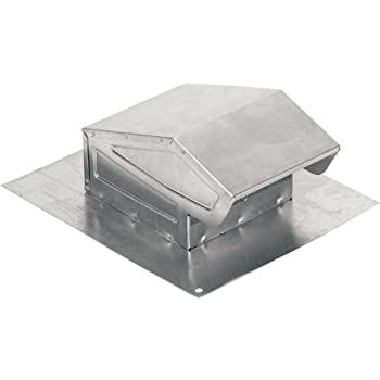 Great NuTone 636AL Aluminum Roof Cap For Ventilation Fans
