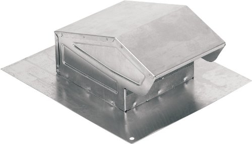 Duct Cap Roof Aluminum (NuTone 636AL Aluminum Roof Cap for Ventilation Fans)