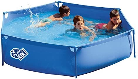 Piscinas Toi Piscina Hexagonal, Azul, 215x215x45 cm, 3170: Amazon ...