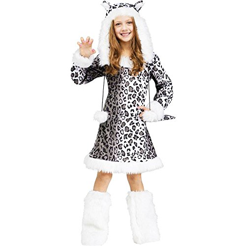 Snow Leopard Child Costume Medium