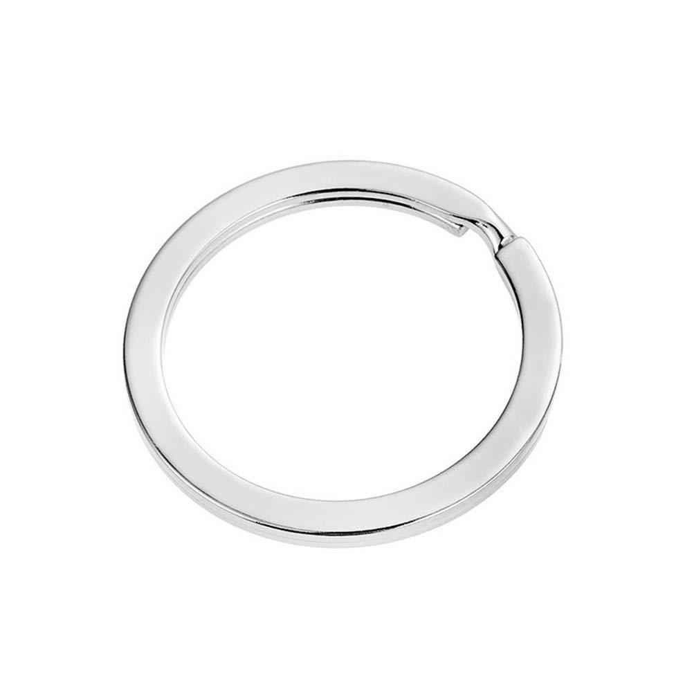 Aofocy Porte-cl/és en acier plaqu/é nickel 25 mm paquet de 20 1 pouce