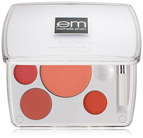em michelle phan Shade Play Lip Color Mixing Palette, Mix It Up Peaches