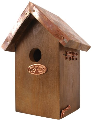 Esschert Design Wren Bird House – Antique Wash with Copper Roof Review