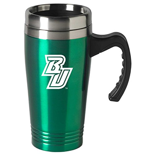 Binghamton University-16 oz. Stainless Steel Mug-Green