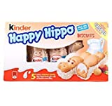 Kinder Happy Hippo Biscuits 3-PACK 3x103.5g/3x3.65oz