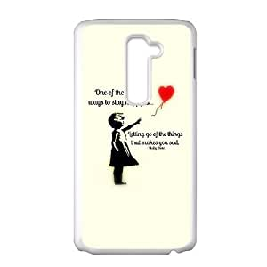 LG G2 Cell Phone Case White Quotes Phone cover G2706019