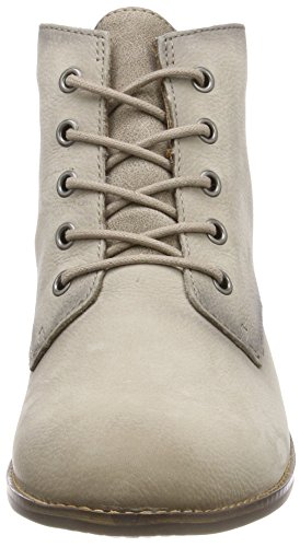 stone Boots Tamaris Combat 25100 Women''s Grey q6qXa