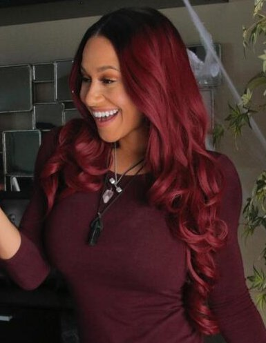 Image result for red lace front wig