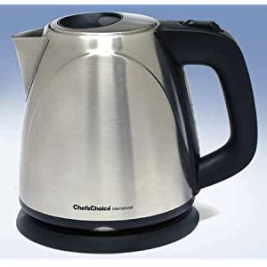 Electric Kettle, 1L, Stainless Steel