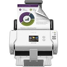 Brother ADS2700W Wireless Space Saving High Speed Color Duplex Desktop Document Scanner