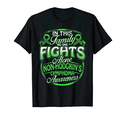 (No One Fights Alone Non-Hodgkin's Lymphoma Awareness T)
