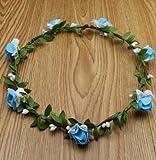 VT BigHome 1pcs/lot Wedding Handmade Women PE and Paper Flowers Headbands Hairband Handbands More Colors for Bride Beach Wear