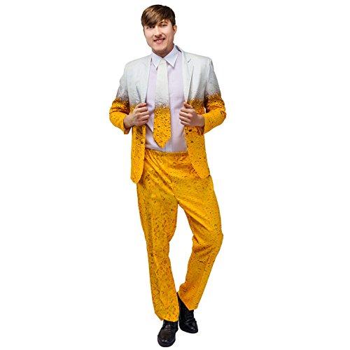 flatwhite Men's Beer Jacket Party Suit Costumes (XL)]()