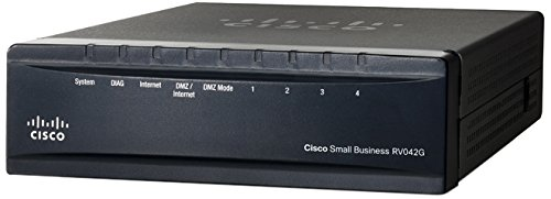 CISCO Dual Gigabit WAN VPN Router - RV042G-K9-NA by Cisco