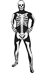 Morph Costumes              Morphsuits are the most popular costume brand in the world with over 1.3million Facebook fans. Glow Skeleton Morphsuits are all-in-one spandex costumes that cover the whole of your body from head to...