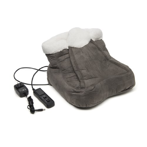 Foot-Cozy-Heated-Massager-Fleece-Lined-Interior-w-Remote-Control