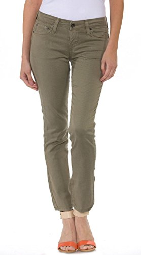 Big Star Women's Remy Cropped Jeans in Soft Olive Wash (Big Star Jeans)