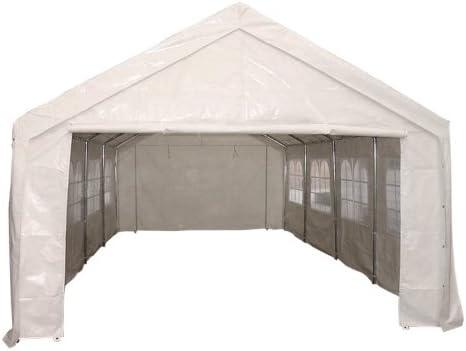 Plane Transparent wasserdichte Schwerlast Auto-Dach-Regenschutz Camping Zeltanh/änger mit /Ösen und verst/ärkten Kanten 350g m/²