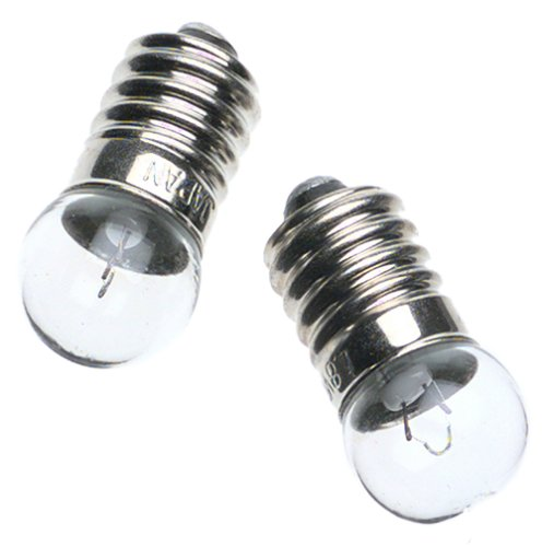Zelco Itty Bitty Book Light Replacement Bulbs, 2 bulbs/pkg by Zelco (Image #1)