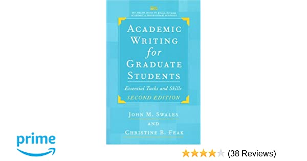 Amazon Academic Writing For Graduate Students Second Edition