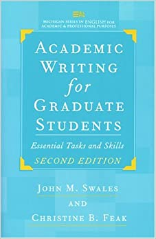 Academic writing for graduate students