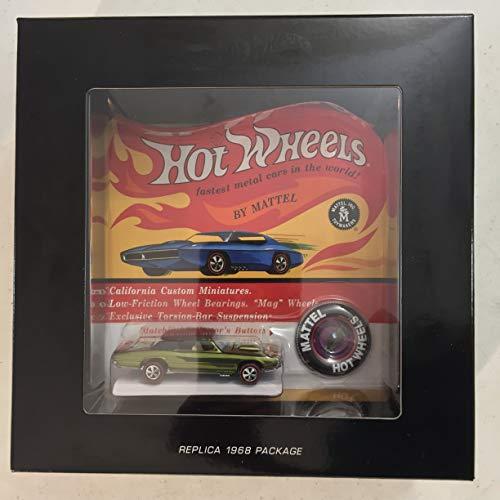 "Hot Wheels ""RLC Exclusive Custom T-Bird Original 16 Replica xxxx/6000 (Spectraflame Olive) [in Collector Box] -  Mattel, 2717EA4"