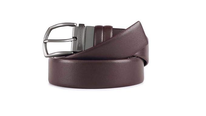cerca autentico comprare reale fashion design Piquadro Cintura uomo in pelle reversibile con fibbia ad ...