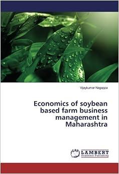 Book Economics of soybean based farm business management in Maharashtra