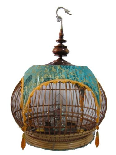 Bamboo Birdcage - 9