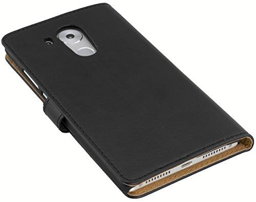 mumbi Ledertasche Tasche im Bookstyle für Huawei Mate 8 Tasche Uq8wp