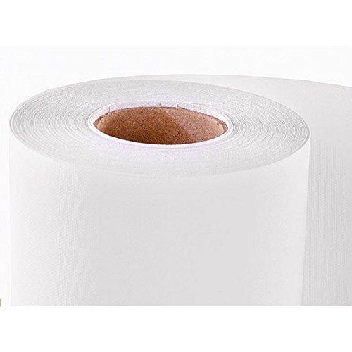 33cm tela di cotone stampabile media, 100% cotone, 340g/mq, opaca, rotolo 18meters