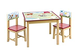 Farm Friends Table & Chair by Guidecraft G86702