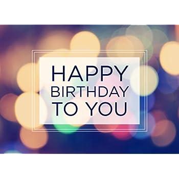 Amazon Birthday Greeting Cards B1603 Greeting Cards