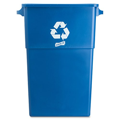 Genuine Joe GJO57258 Recycling Rectangular Container, 28 gallon Capacity, 22-1/2