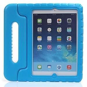 Mango Kids espuma de Eva de la cubierta del caso del soporte para el iPad de golpes de aire , Rojo