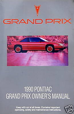Pontiac Grand Prix Ebay (1990 Pontiac Grand Prix Owner's Manual)