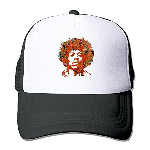 ACMIRAN Jimi Hendrix Funny Sunhats One Size Black