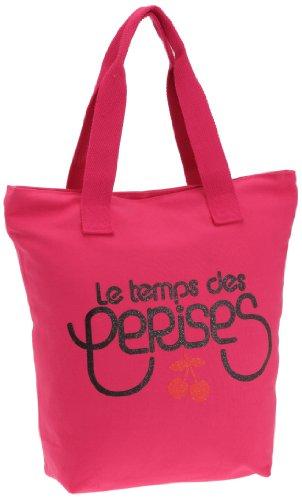 Le Temps Des Cerises Ruby Cotton - Shopper para mujer Fushia