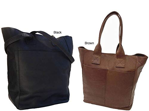 XL Shopping Tote Color: Black
