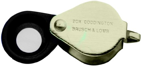 BAUSCH & LOMB Coddington Magnifier - And Glasses Bausch Lomb