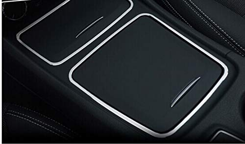 Alina-Shops - Storage Cover +Cigarette Ashtray Panel For Mercedes Benz CLA C117 W117 2014 2015 by Alina-Shops (Image #2)