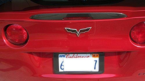2005 - 2013 Corvette C6 Z06 Grand Sport Style Carbon Fiber HydroGraphics Spoiler