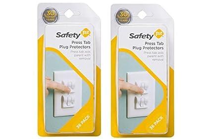 Safety 1st 36 Pack Secure Press Plug Protectors