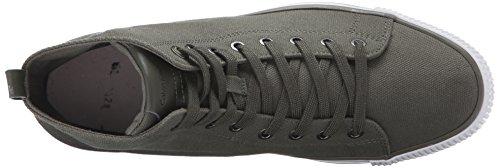Calvin Klein Jeans Arthur Canvas, Zapatillas para Hombre Military