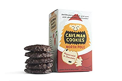 North Pole Caveman Cookies