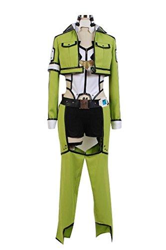 Asada Shino Costume (Cosplaybar Sword Art Online ALfheim Online Sinon Asada Shino Female XS)