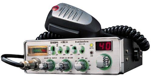 amazon com uniden pc68ltw 40 channel cb radio with front mic car rh amazon com Uniden CB Radio Mic Replacement Uniden Marine Radio Parts